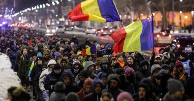 румънци протест