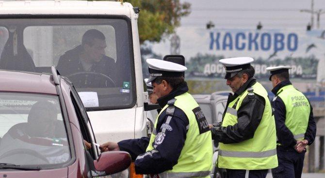полицаи, нарушения на пътя, птп