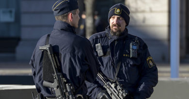 полицаи швеция