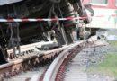 Товарен влак  дерайлира на гара Пловдив