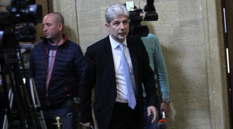 Министърът на околната среда Нено Димов