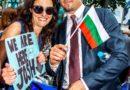 """Дюамел развя българския флаг на премиерата на """"Трансформърс"""""""