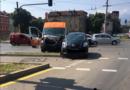 Линейка и кола се удариха на кръстовище в София