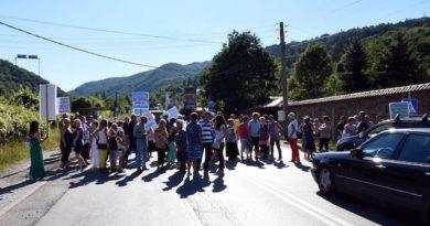 протест княжево