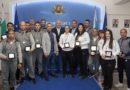 Министър Кралев награди с почетни плакети  медалистите от Световното първенство по шотокан карате-до