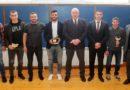 Министър Кралев награди борец №1 за 2017 г. Тарек Абдеслам