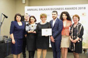BALKAN AWARDS 2018 Зам.-министър Султанка Петрова