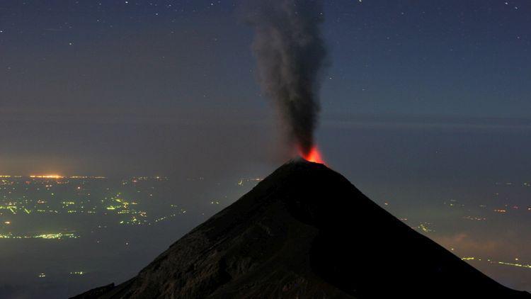 вулкан гватемала