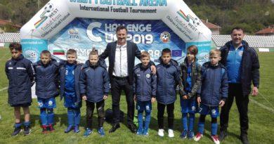 Съветникът на министър Кралев Гошо Гинчев откри международния детски футболен турнир Challenge Cup