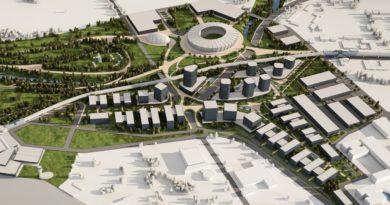 Нов национален стадион е част от офертата на MAG за концесията на летище София
