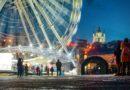 Киев има 35 км коледен пазар със сини дядо мразовци
