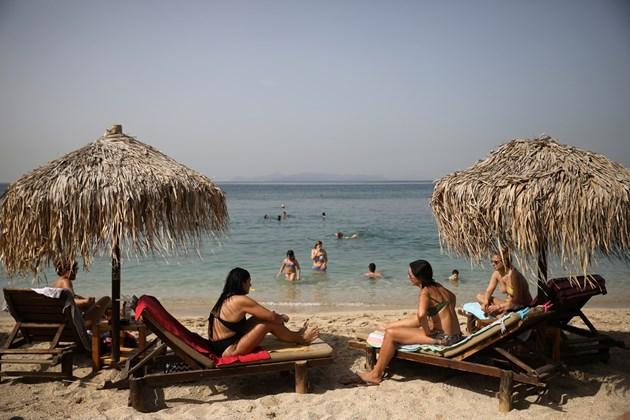 гърция плаж
