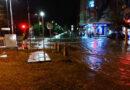 След бурята в София – някои подлези са затворени, отводняват се улици