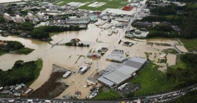 40 загинали при наводненията в Япония