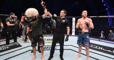 Хабиб Нурмагомедов се оттегли непобеден от UFC