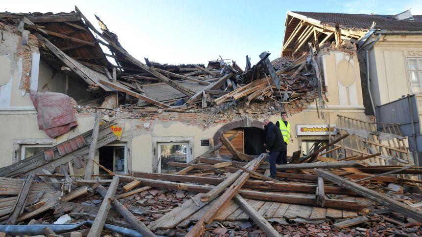 хърватия земетр