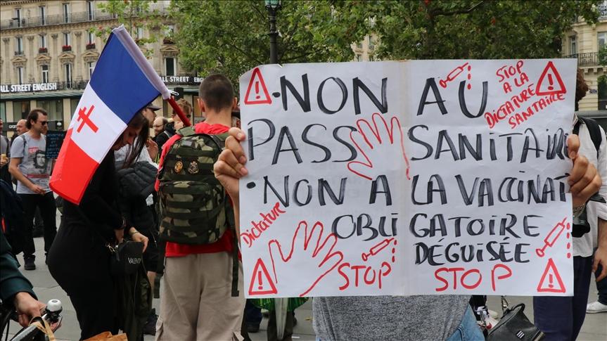 франция протести