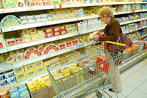храни, супермаркет