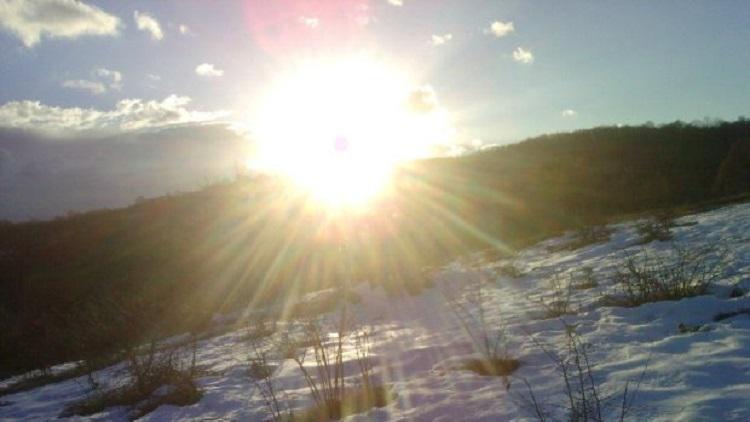 зима злънчево