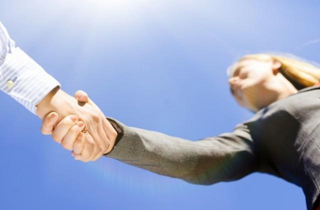 ръкостискане, сделка
