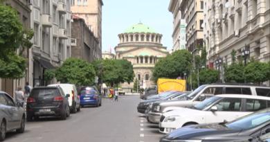 """Част от улица """"Съборна"""" вече е пешеходна зона"""
