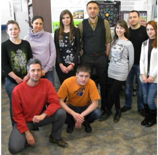 Проф. Чорбанов и неговият екип